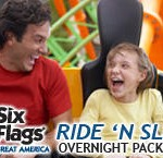 Six Flags KeyLime Cove Ride N Slide Package
