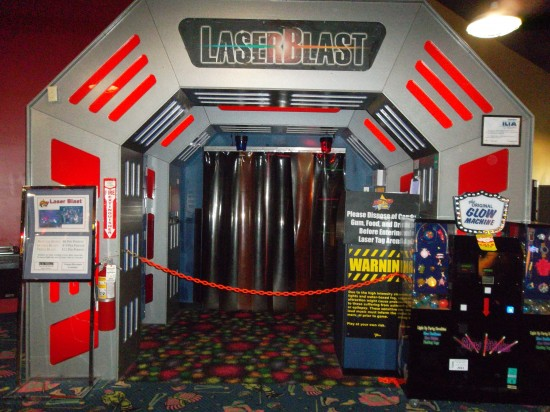 Rinkside Sports Laser Tag Gurnee Mills