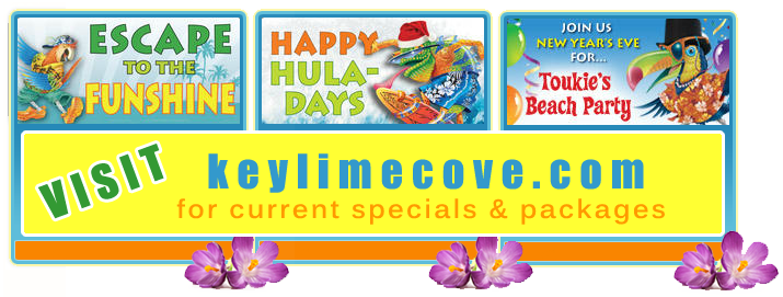 Keylime Cove Specials and Packages