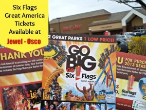 Post image for Jewel Osco Six Flags Great America Tickets 2013